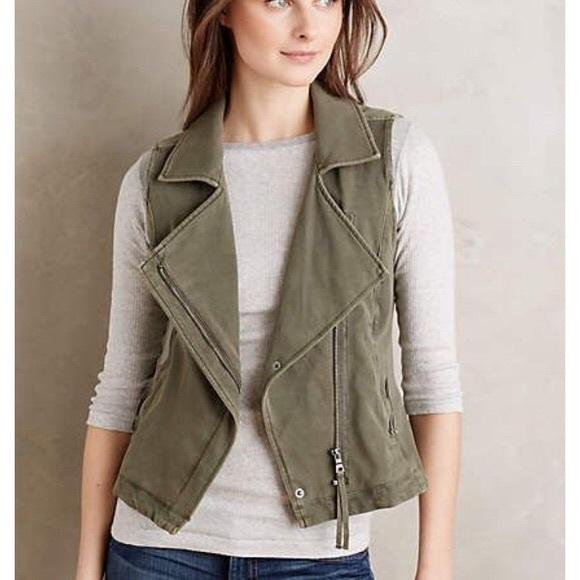 0029f2bae Anthropologie Jackets & Coats | Marrakech Moto Vest | Poshmark